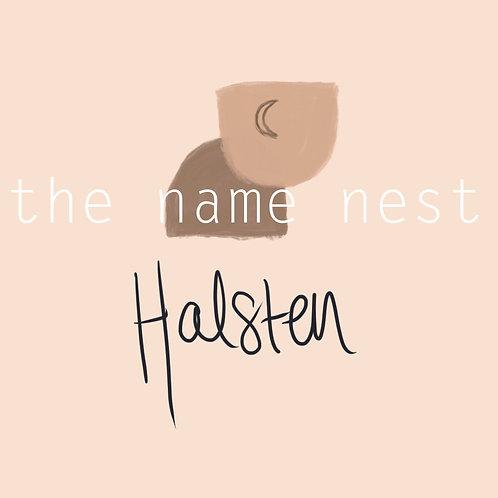 Halsten