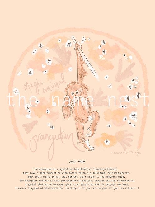 Orangutan - magic animal