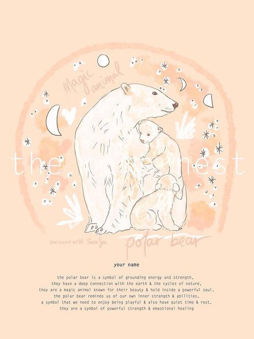 Polar Bear - magic animal