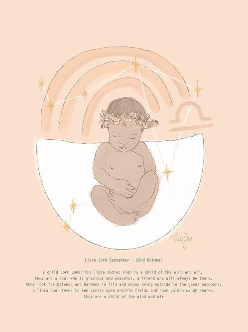 Libra - zodiac baby