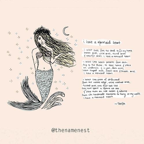 i have a mermaid heart