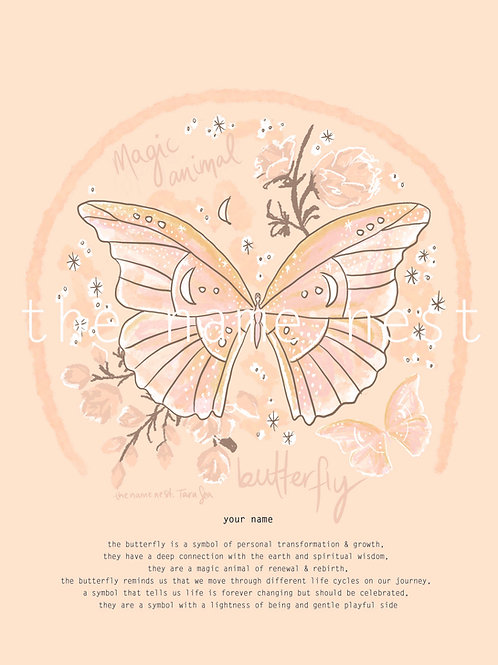 Butterfly - magic animal