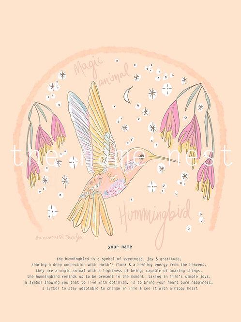 Hummingbird - magic animal