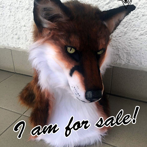 Red Fox mask