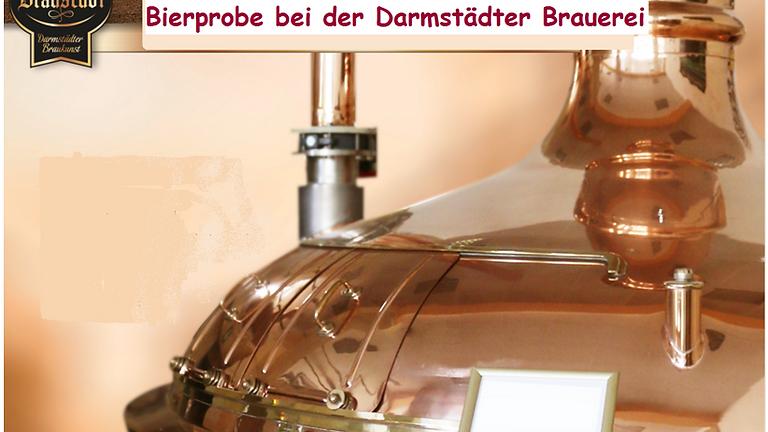 Bierprobe bei der Darmstädter Brauerei