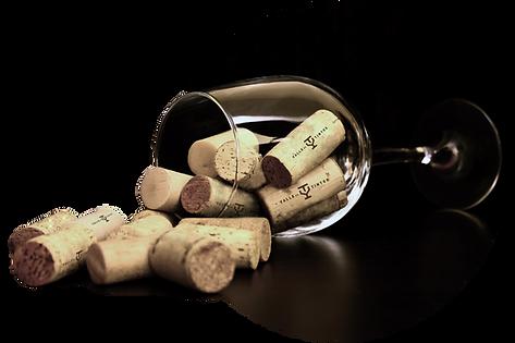 Corcho de vinos