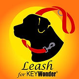Dog Leash for Automatic Key Chain