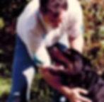 Large Dog Training with Heavy Duty Locking Dog Leash