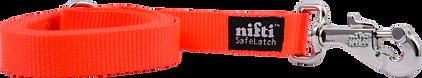 Orange Heavy Duty Locking Dog Leash