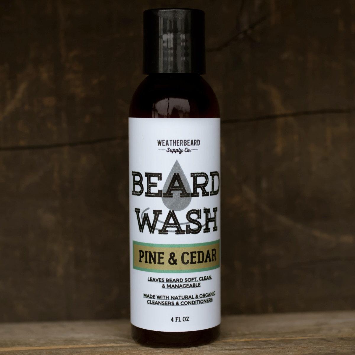 PINE & CEDAR BEARD WASH