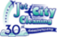 Jet City 30th Logo (Stars in Jet Stream)
