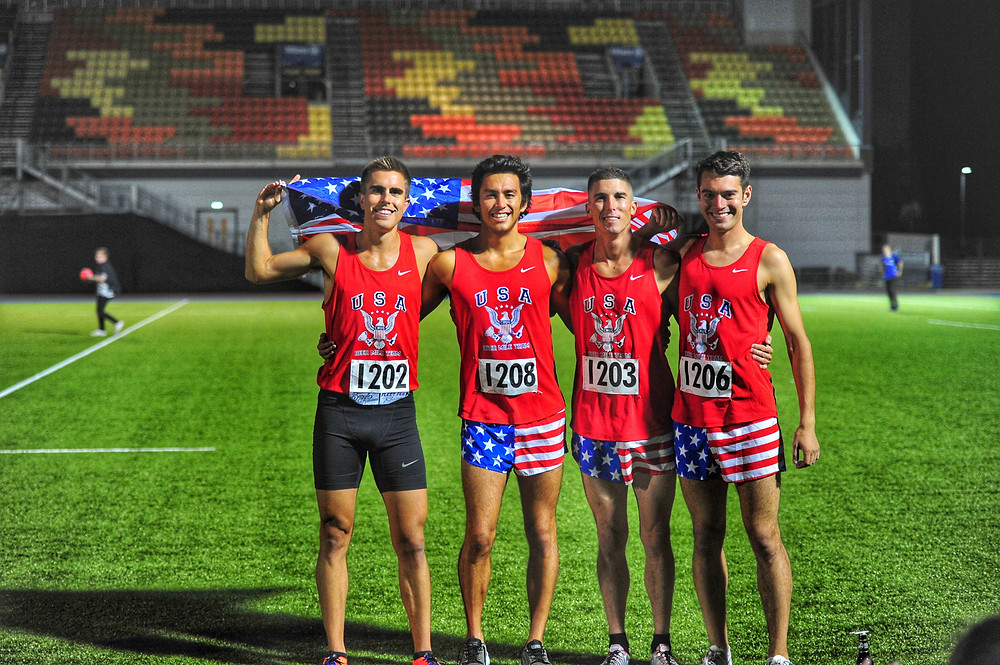 Team USA wins Beer Mile World Classic 2017 title in London