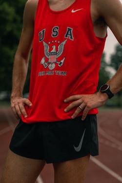 Chris Robertson Team USA Beer Mile 10