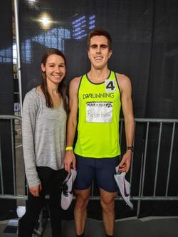 Chris Robertson Hawkeye Indoor Track 2020