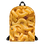 Mac 'N Cheese Backpack - Macaroni and Cheese Backpack - Mac N Cheese Bag