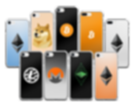 Custom Phone Cases at the Blockchain Store - Bitcoin iPhone Cases, Ethereum iPhone Cases, Altcoins