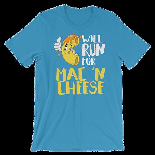 Will Run for Mac 'N Cheese Shirt