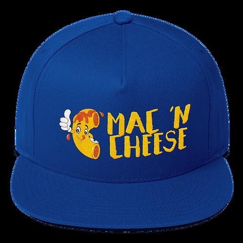 Mac 'N Cheese Snapback Cap - Mac and Cheese Trucker Snapback Cap
