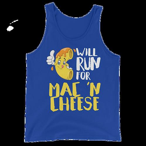 Will Run for Mac and Cheese Tank Top - Will Run for Mac n Cheese Tank