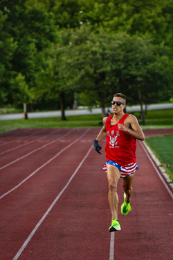 Chris Robertson 4:38 Beer Mile American Record June 2020