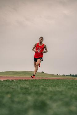Chris Robertson Team USA Beer Mile 8