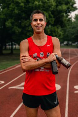 Chris Robertson Team USA Beer Mile 12