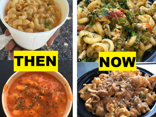 Mac 'N Noodles Then vs. Now