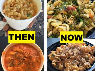 Mac 'N Noodles Then vs. Now