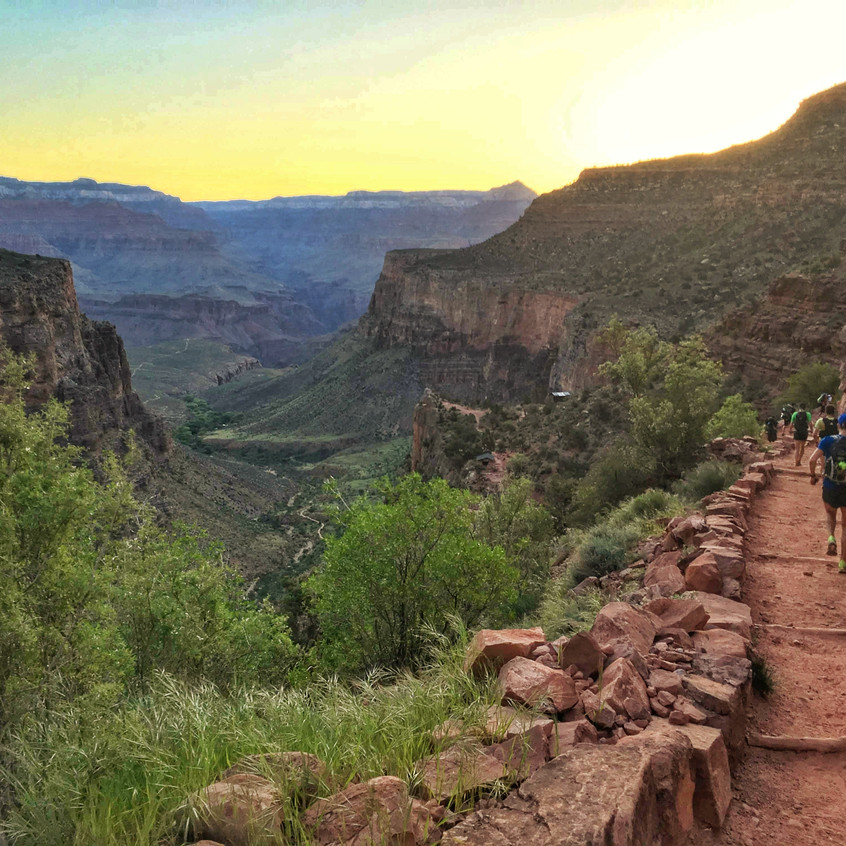 Grand Canyon R2R2R Run Doublecross