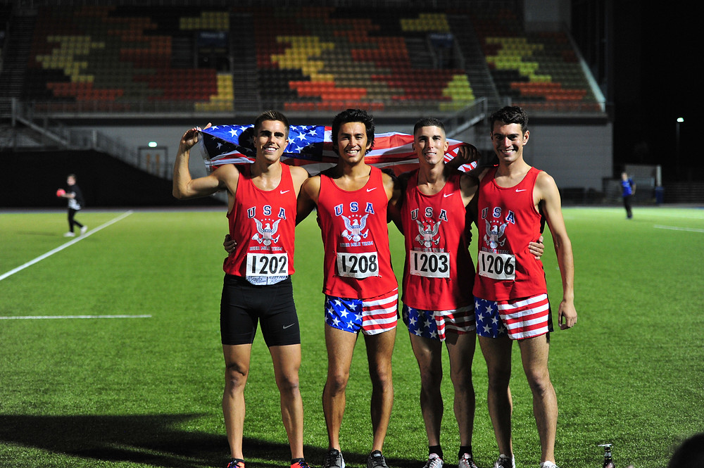 Team USA Wins the 2017 Beer Mile World Classic at Allianz Park in London, UK