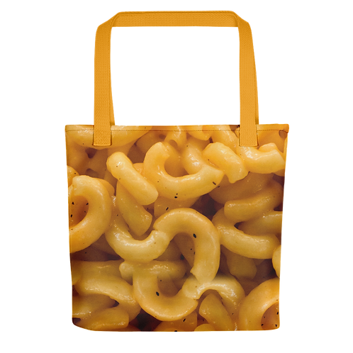 Mac N Cheese Tote Bag - Macaroni and Cheese Tote Bag - Mac and Cheese Tote Bag