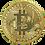 Gold Plated Bitcoin Coin Collectible BTC - Gold Plated Commemorative Bitcoin BTC Coin