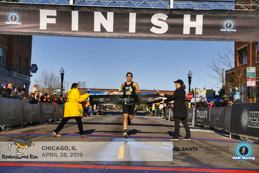 Chris Robertson Wins Ravenswood 5k Chica