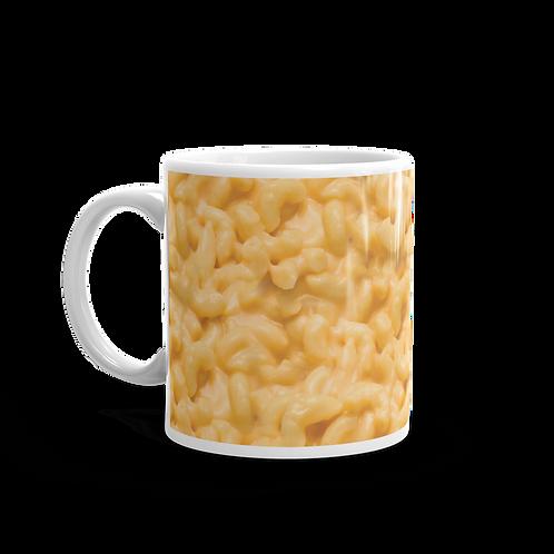 Gooey Mac 'N Cheese Coffee Mug - Macaroni and Cheese Coffee Mug - Mac and Cheese Coffee Mug
