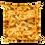 Mac 'N Cheese Decorative Pillow - Macaroni & Cheese Pillow - Large Square Mac and Cheese Pillow