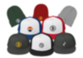 Custom Hats and Beanies from The Blockchain Store - Bitcoin Hats, Ethereum Hats, Altcoins Hats, Bloc