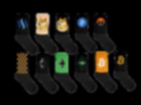 Crypto Socks - Bitcoin, Ethereum, Altcoin Socks