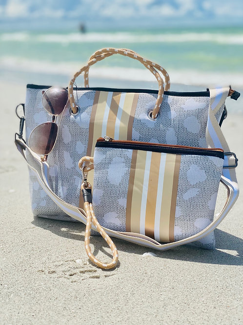 The Jeanne Mini Tote and Wristlet
