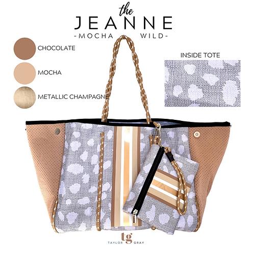 The Jeanne Neoprene Tote- PRE ORDER