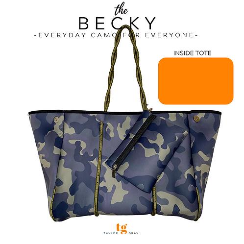 The Becky Neoprene Tote- PRE ORDER