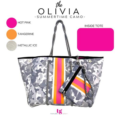 The Olivia Neoprene Tote- PRE ORDER
