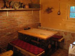 Kuhinja, brvnara B2, Rudno