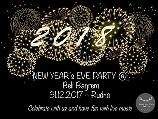 Celebrate With Us 2018 New Year's Eve