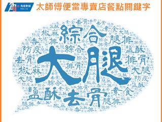 2020台灣餐飲業-太師傅便當專賣店
