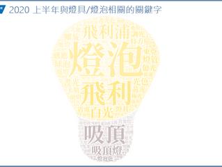 2020 燈具/燈泡品牌市佔排行
