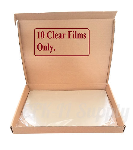Replacement Visors Protection Films 10 Pieces for Dental Face Shield