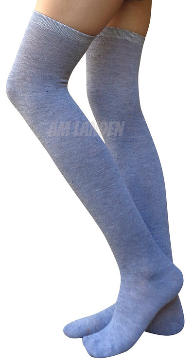 AM Landen Over-Knee Wool Socks(Gray)