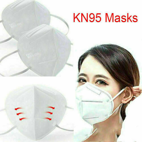 200 pieces FFP Face N Ear Masks KN95 Mouth Cover Saliva Fast Delivery200