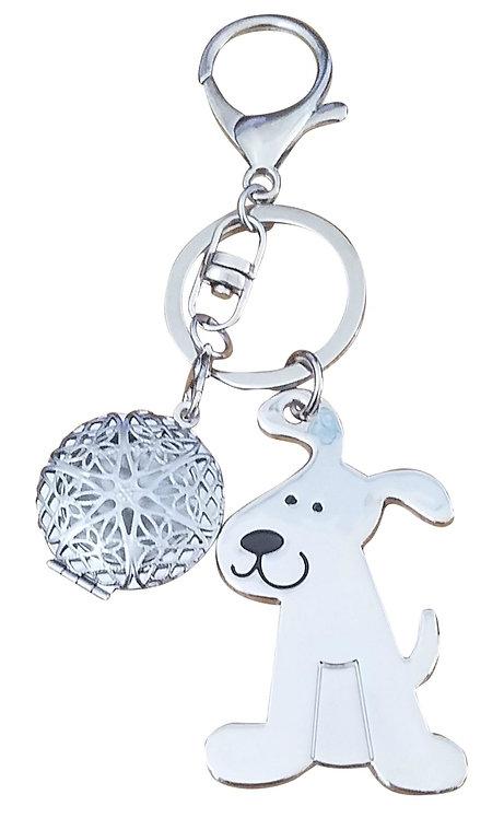 Super Cute Dog Picture Frame Key-chain Handbag Purse Charm