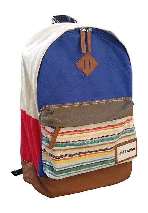 "Light Canvas Backpacks,14"" Laptop Bags(Blue)"